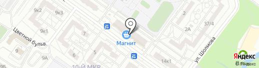 Чудо дети на карте Ульяновска