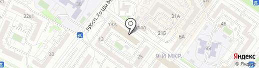 Секонд-хенд плюс на карте Ульяновска
