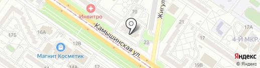 Диана на карте Ульяновска