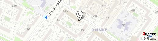 Луиза на карте Ульяновска