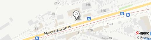 АВТОМАЙ на карте Ульяновска