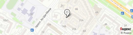 Merlin на карте Ульяновска