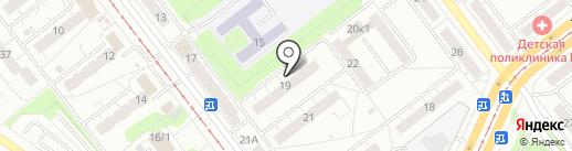 Конструктор, ЖСК на карте Ульяновска