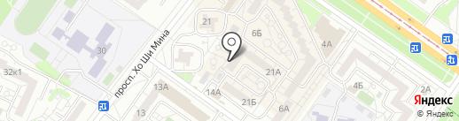 Лакки на карте Ульяновска