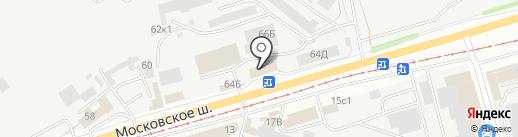 АВТОМАМА-ТРАНС на карте Ульяновска