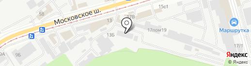 Тосна на карте Ульяновска