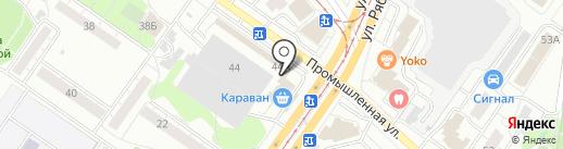 ДеньгиАктив на карте Ульяновска