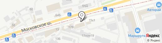 BrickStyle на карте Ульяновска