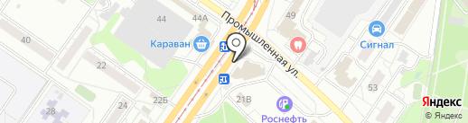 Пилот на карте Ульяновска