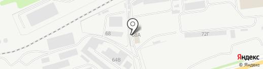 Транзит-Авто на карте Ульяновска