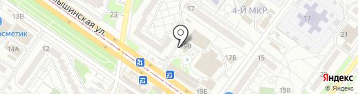Divine на карте Ульяновска