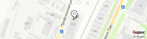 АБЗ СПЕКО на карте Ульяновска
