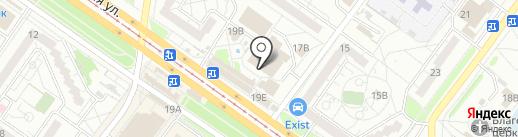 Веселый магазин на карте Ульяновска