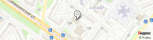 Городской центр по благоустройству и озеленению г. Ульяновска, МБУ на карте Ульяновска