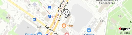 Happy time на карте Ульяновска