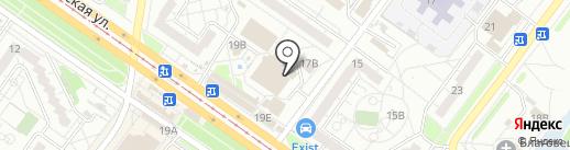 Рубикон на карте Ульяновска