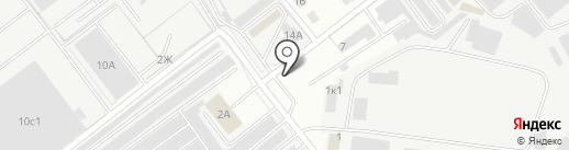 Столовая на карте Ульяновска