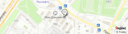 Lady на карте Ульяновска