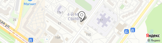 СТО на карте Ульяновска