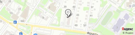 Альфа Буксир на карте Ульяновска