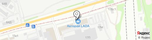 АвтоРай на карте Ульяновска