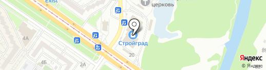 Богиня на карте Ульяновска