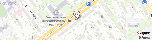 BALU-BABY на карте Ульяновска