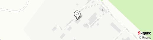 Авангард на карте Волжска