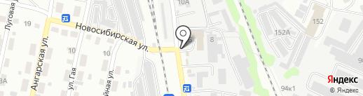 Агрохим-ХХI на карте Ульяновска