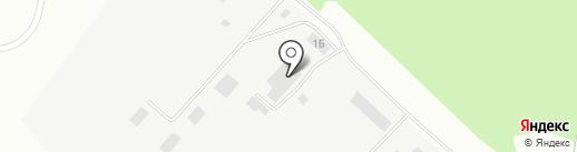 Вектор на карте Волжска