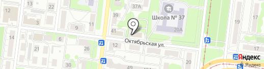 Дента на карте Ульяновска