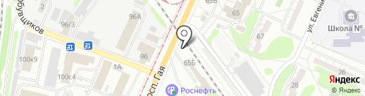 МС-Авто73 на карте Ульяновска