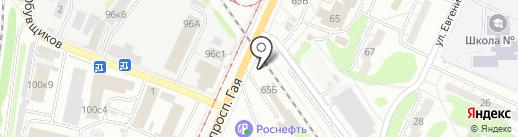 Автокомплекс24 на карте Ульяновска