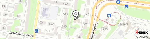Парикмахерская на карте Ульяновска