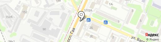 ЛУЧ на карте Ульяновска