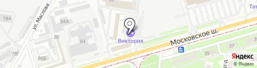 INSPIRE на карте Ульяновска