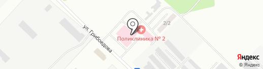 Женская консультация на карте Волжска