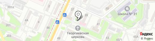 Магазин разливных напитков на карте Ульяновска