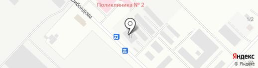 СТРОЙМАРКЕТ на карте Волжска