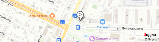 Поском-ломбард на карте Ульяновска