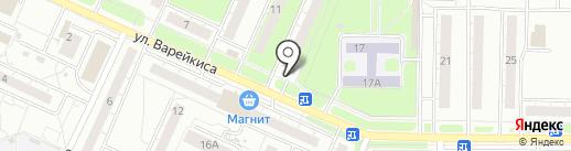 Киоск по продаже безалкогольных напитков на карте Ульяновска
