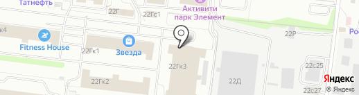 Carcov на карте Ульяновска