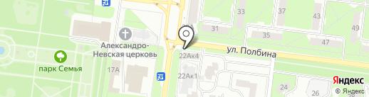 Сибинвест Ломбард на карте Ульяновска