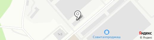 Тимбер на карте Волжска