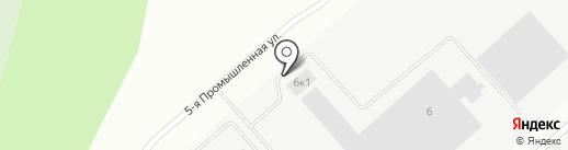 Биктон Трейд на карте Волжска
