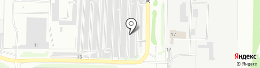 Магазин автозапчастей на карте Ульяновска
