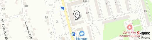 МТсК на карте Волжска