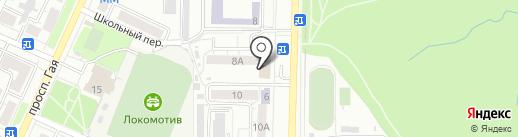Быстрый эвакуатор73 на карте Ульяновска