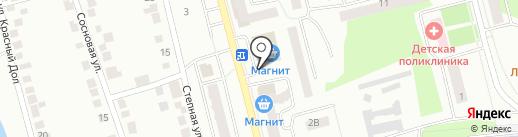 Бристоль на карте Волжска