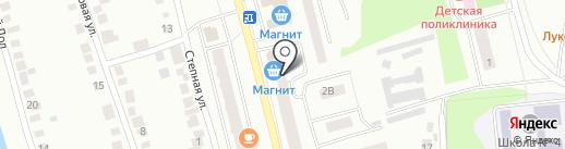 Магнит на карте Волжска